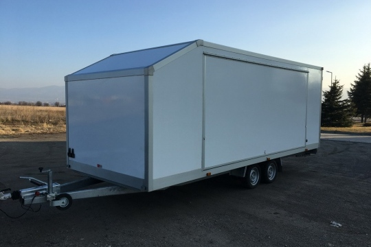 Basecamp Services - Enclosed Car Trailer